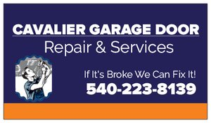 Cavalier Garage Doors logo