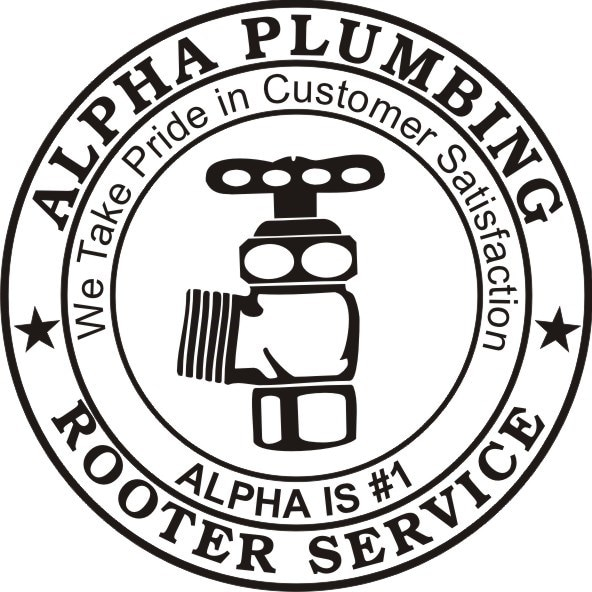 Alpha Plumbing & Rooter Service logo