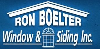 RON BOELTER WINDOW & SIDING logo