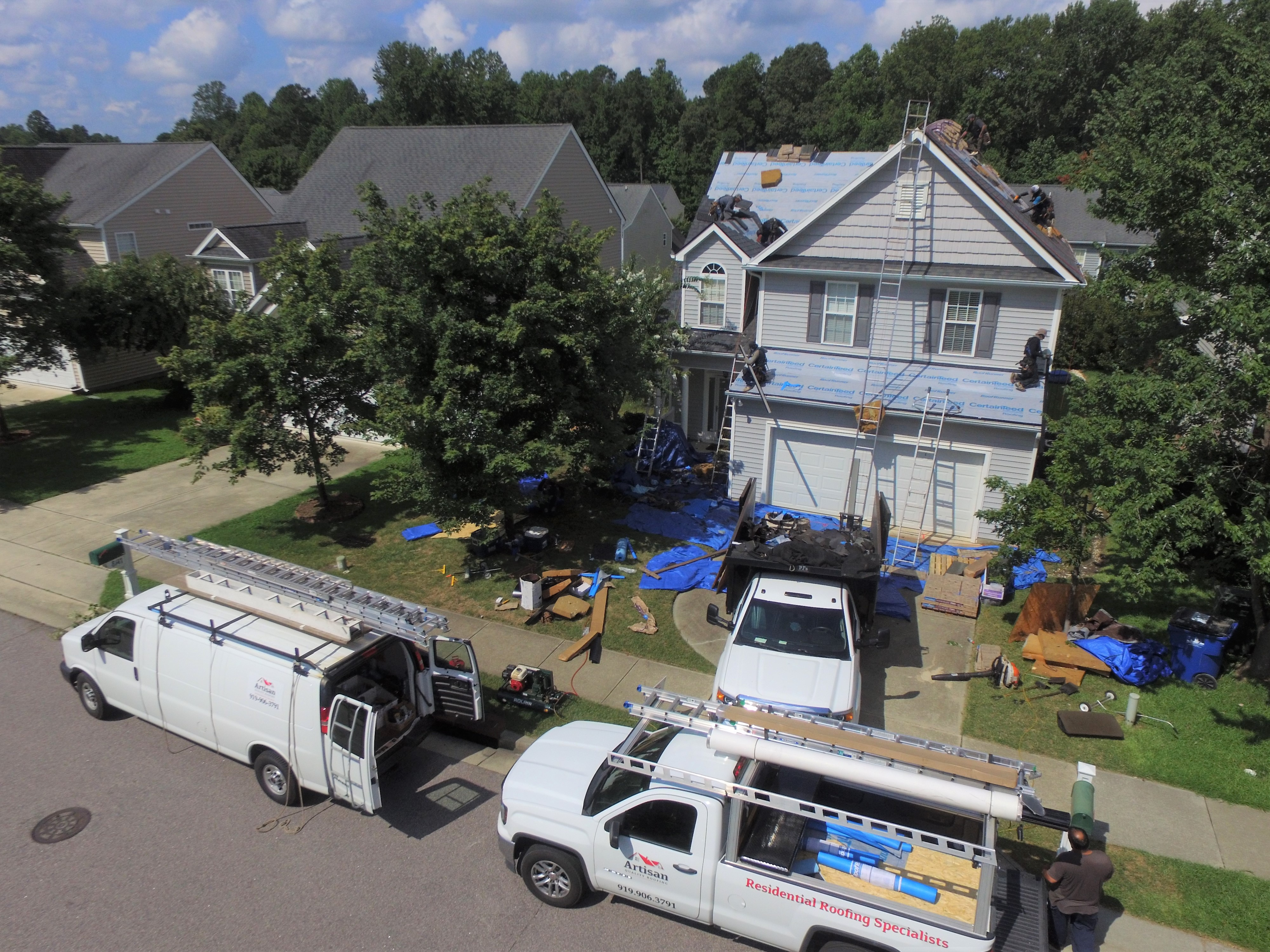 Raleigh Roof Replacement Summer 2020
