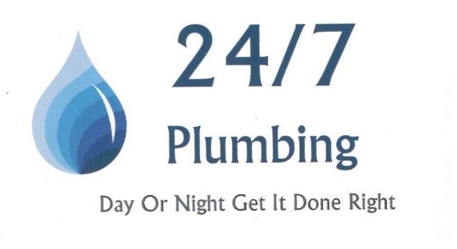 24/7 plumbing logo