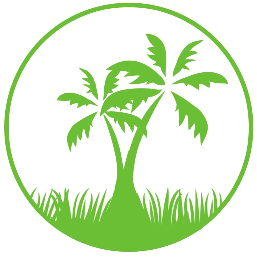 Lawns and Palms logo