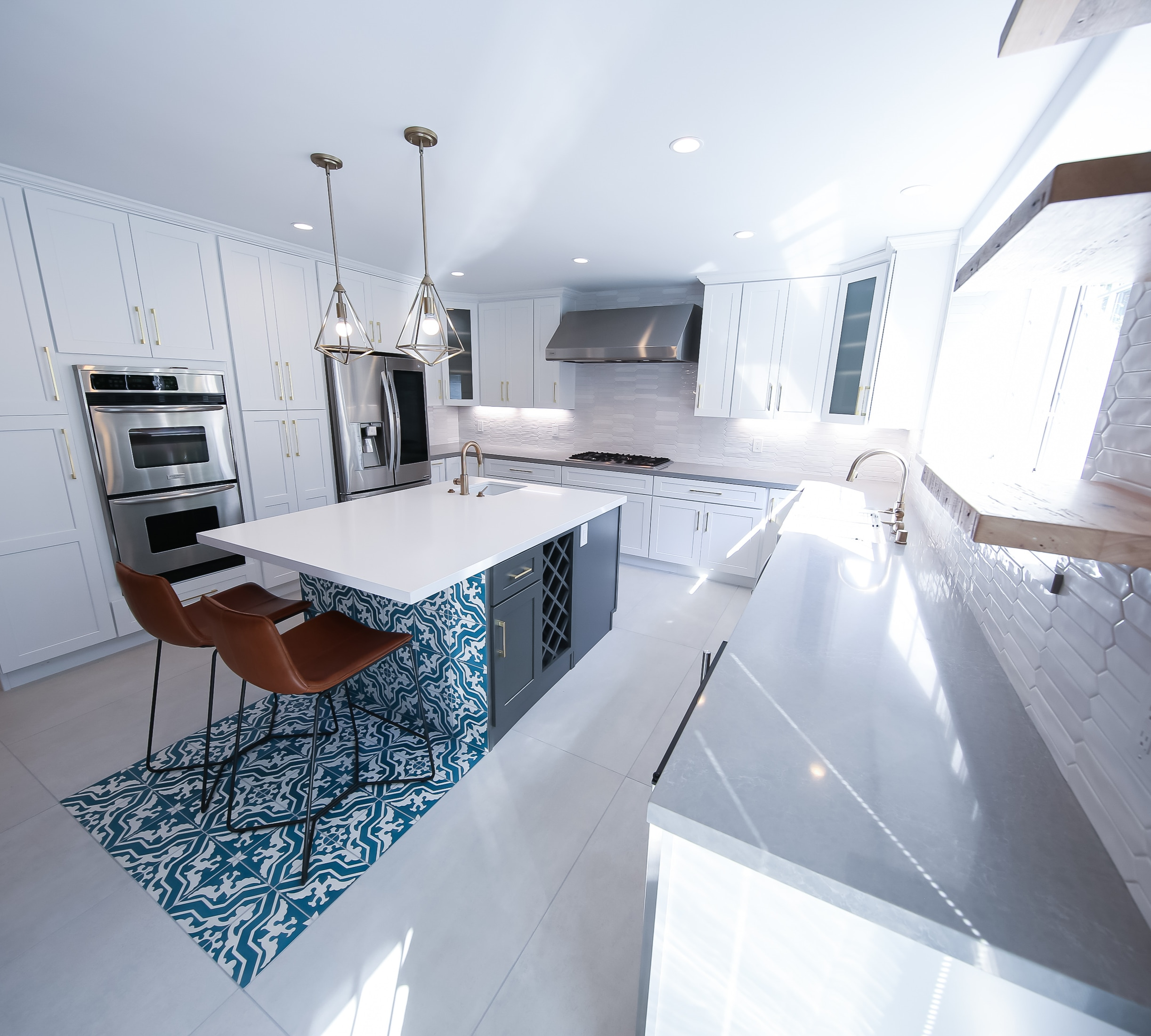MOROCCAN STYLE KITCHEN AND GENERAL REMODELING, LOS ANGELES