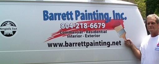 Barrett Painting Inc logo
