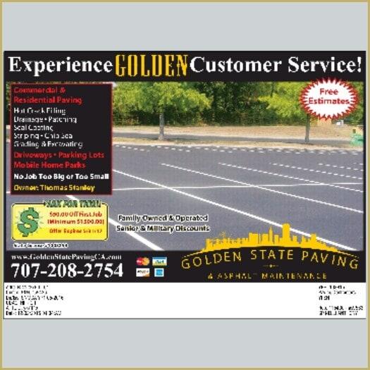 Golden State Paving & Asphalt Maintenance logo