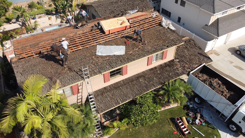 La Habra Re-roof
