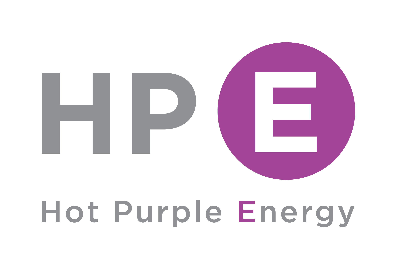 Hot Purple Energy logo