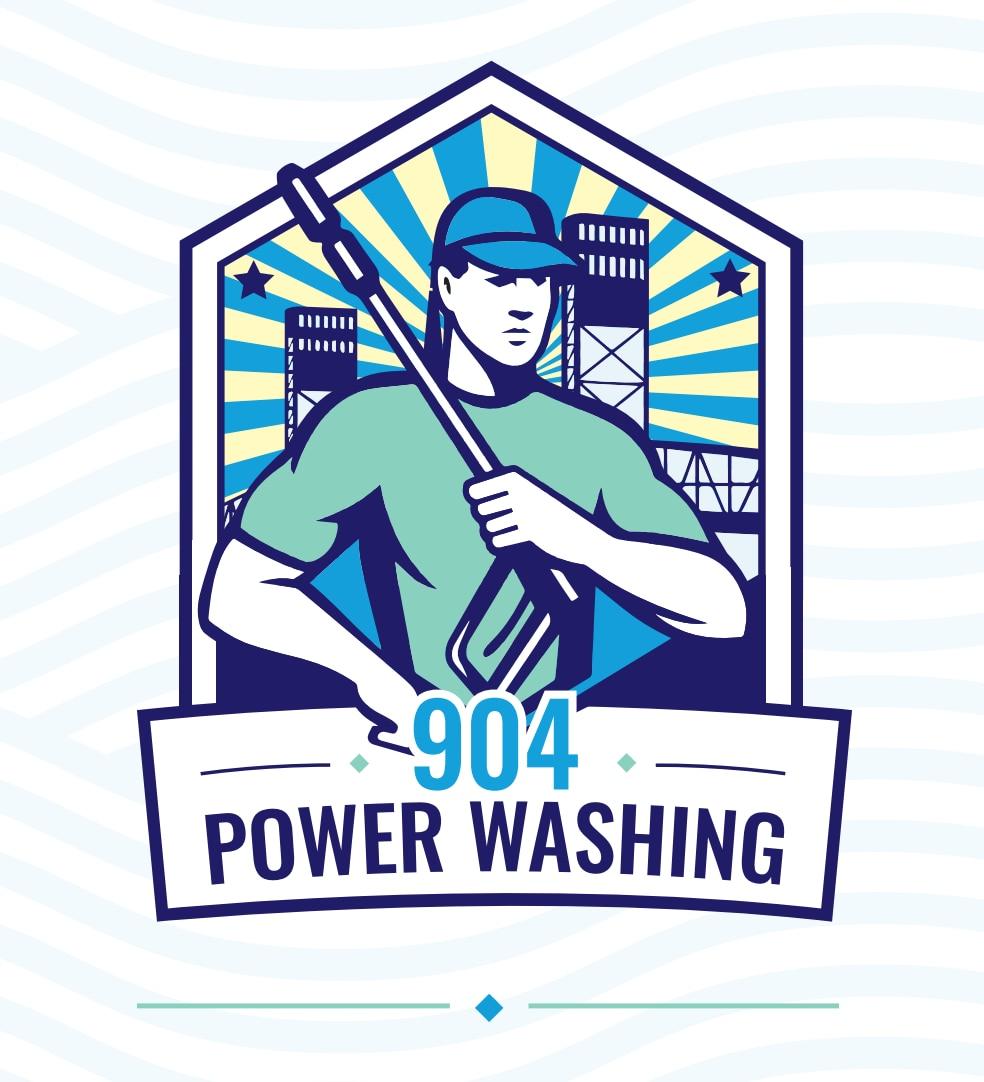 904 Power Washing logo