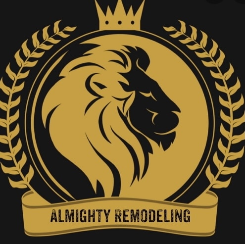 Allmighty remodeling logo