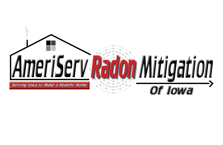 AmeriServ Radon Mitigation of Iowa logo