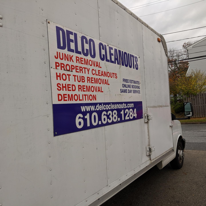 Delco Cleanouts logo