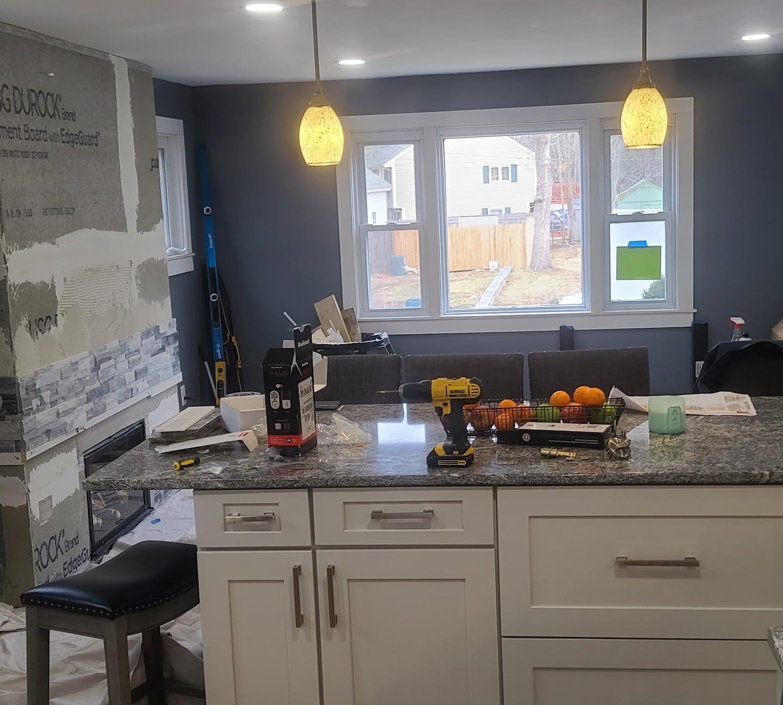 Kitchen/Living room remodel