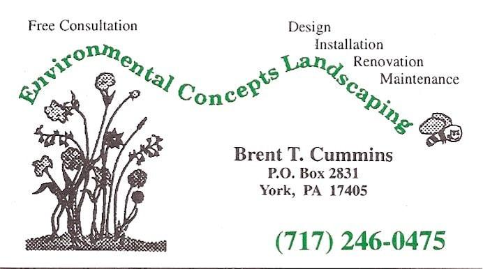 Environmental Concepts Landscaping LLC logo