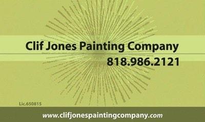 Clif Jones Painting Company logo