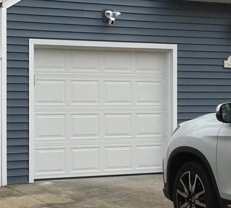 Removed & Replaced Garage Door