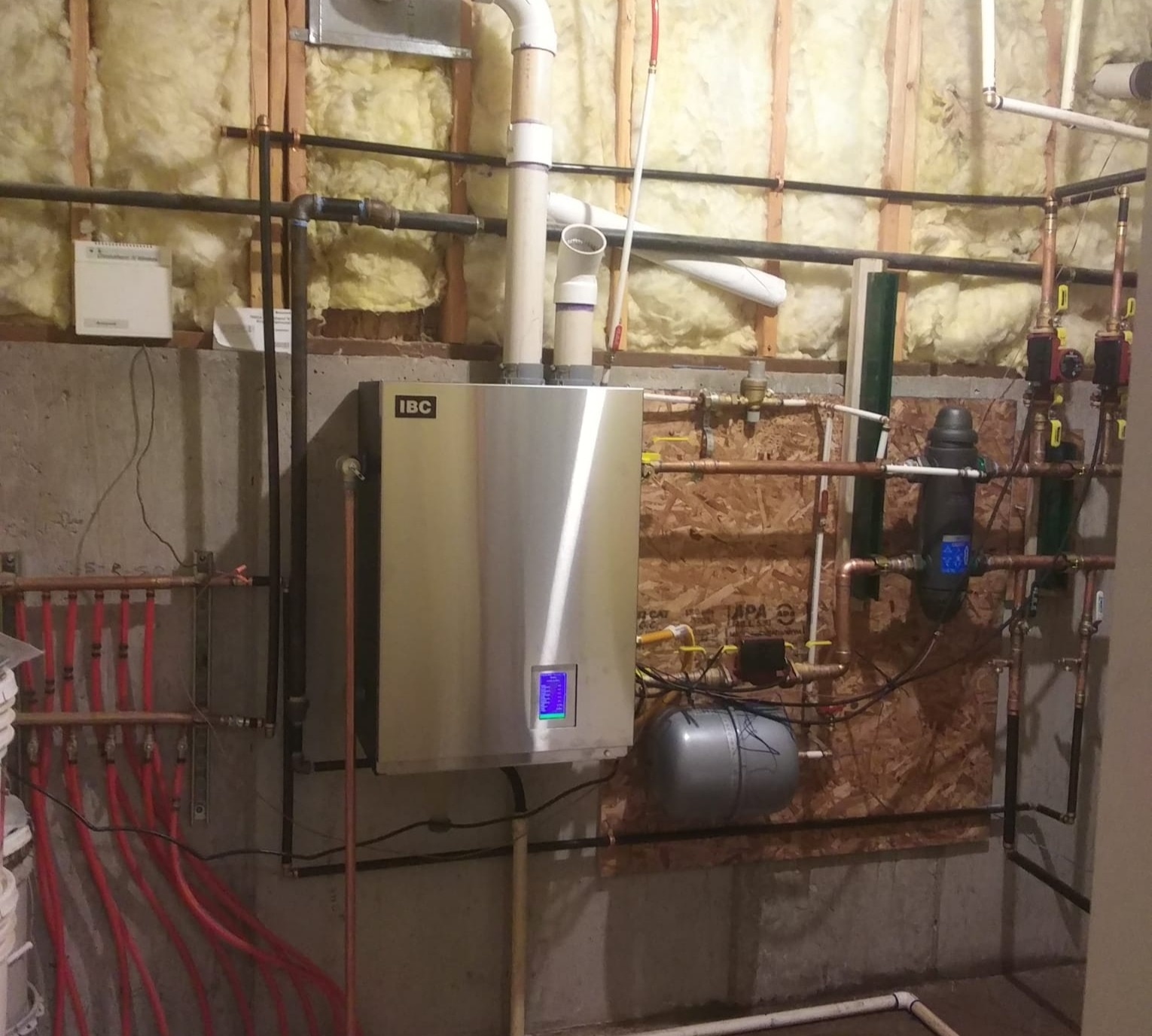 New Boiler, Furnace & AC System Installation