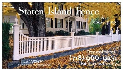 Staten Island Fence & Landscaping Inc logo