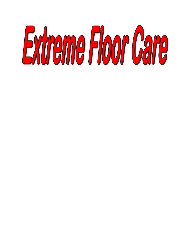 EXTREME FLOOR CARE logo