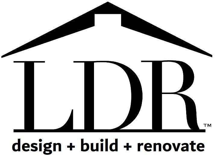 LDR Design+Build+Renovate logo