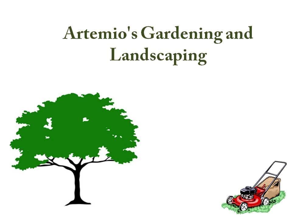 Artemio's Gardening & Landscaping logo