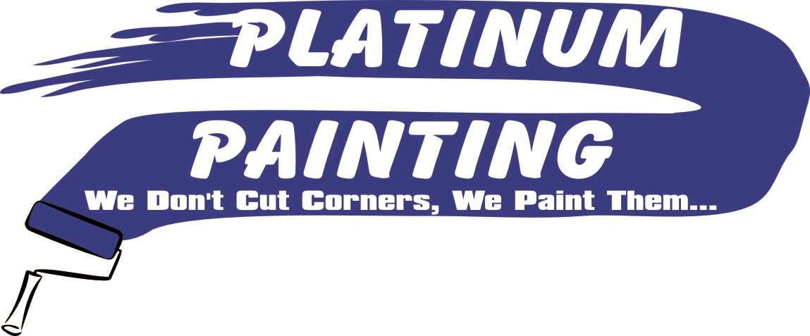 Platinum Painting and Gutters logo