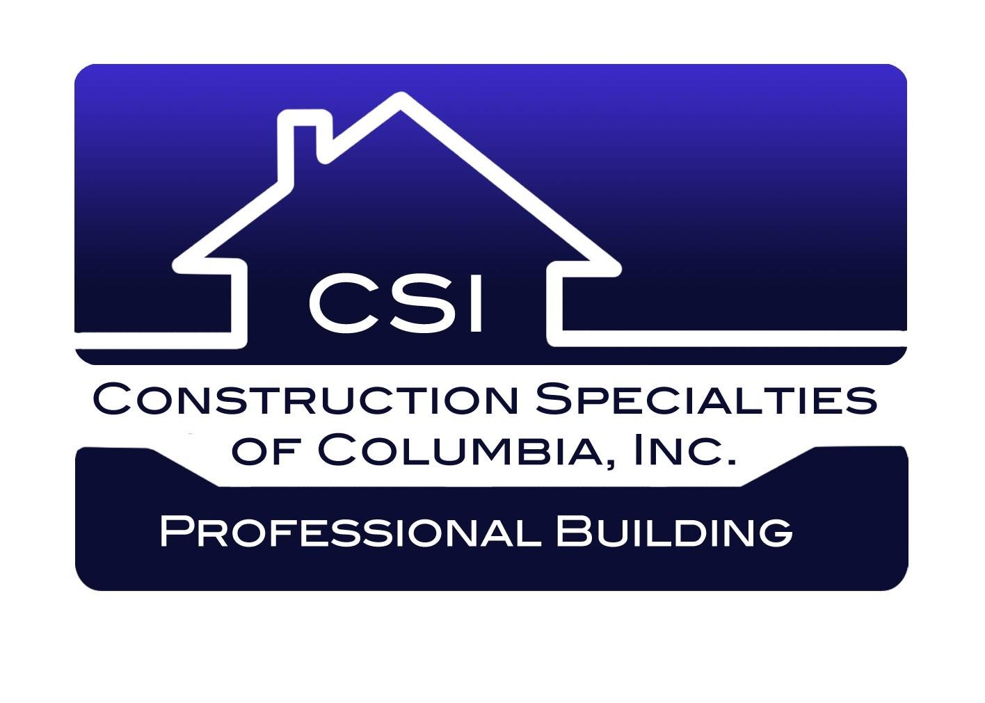 Construction Specialties of Columbia Inc logo