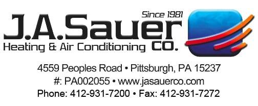 J A Sauer Co logo