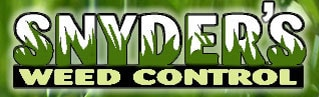 Snyder's Weed Control logo