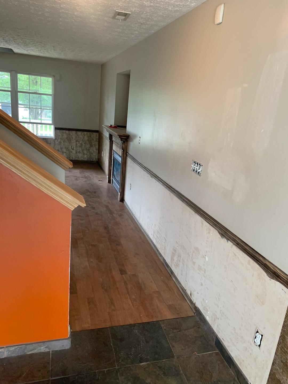 Interior trim, doors, cabinets and walls