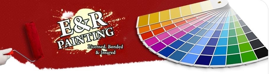 E & R Painting logo