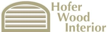 Hofer Wood Shutters  logo