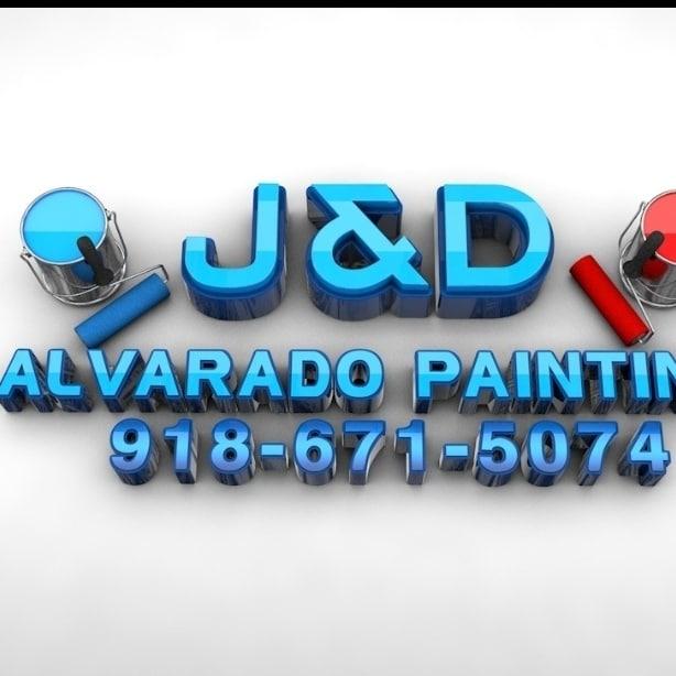 J&D Alvarado painting logo