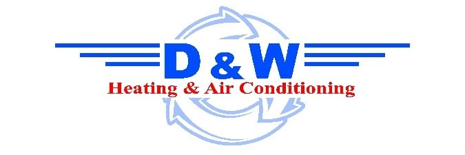 D & W Heating & Air Conditioning logo
