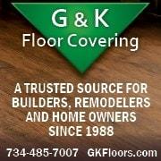 G & K Floor Covering logo