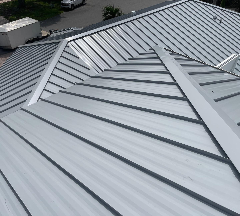 Drexel 24ga Standing Seam Metal Roof