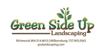 Green Side Up Landscaping logo
