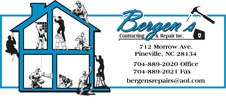 Bergen's Contracting & Repair Inc logo