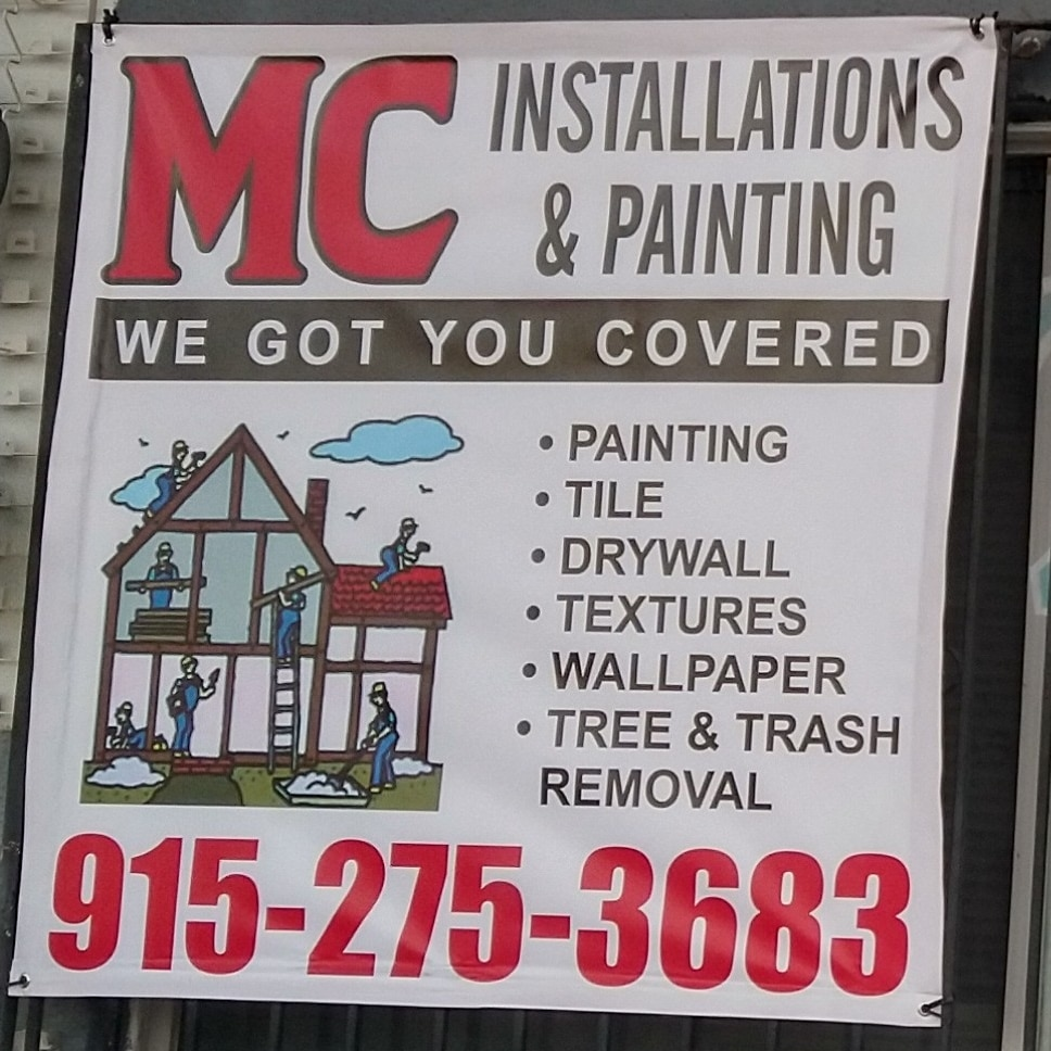 MC Installations & Painting logo