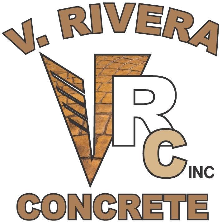 V Rivera Concrete Inc logo