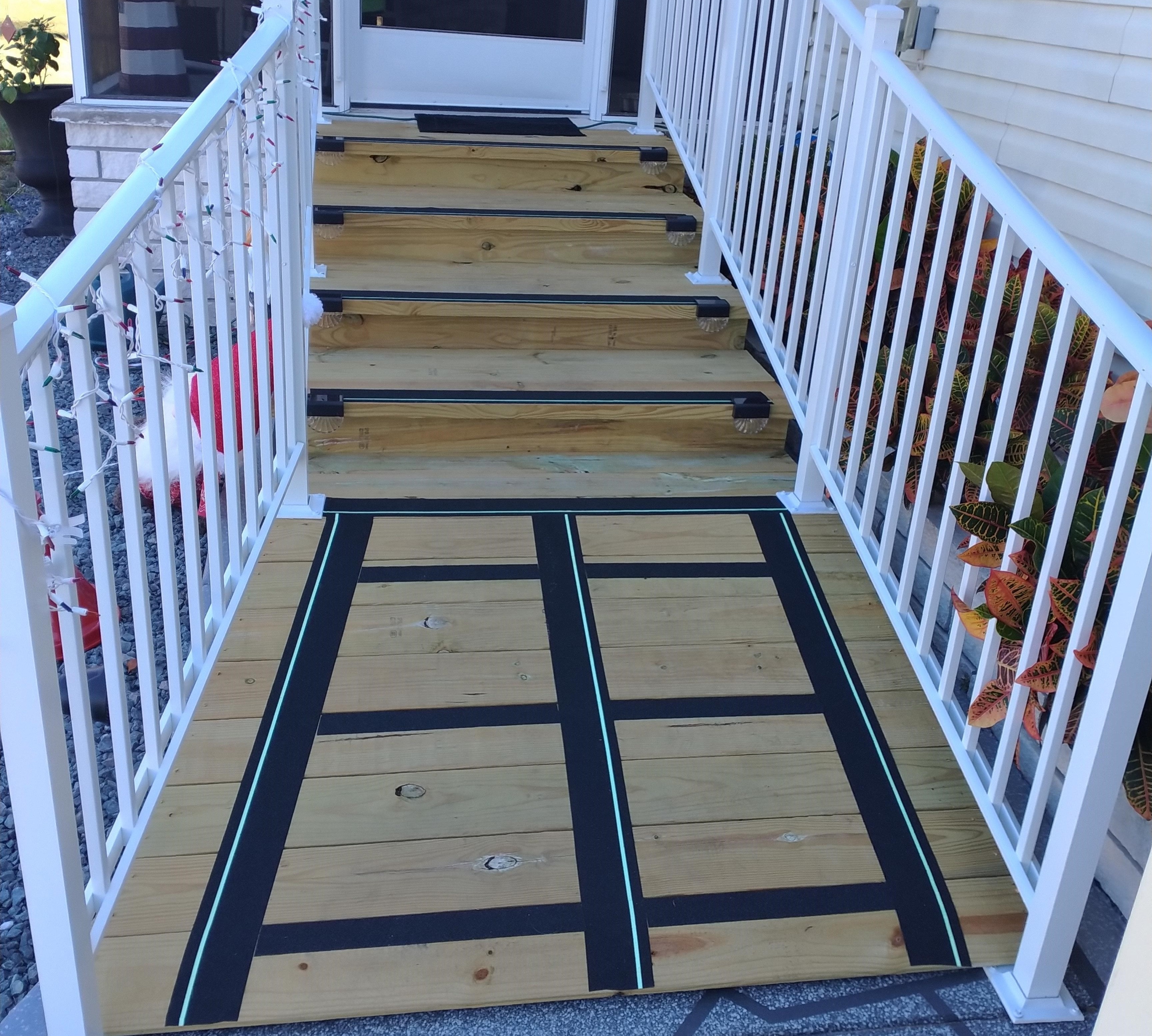 Walker Style Steps and Entry Ramp