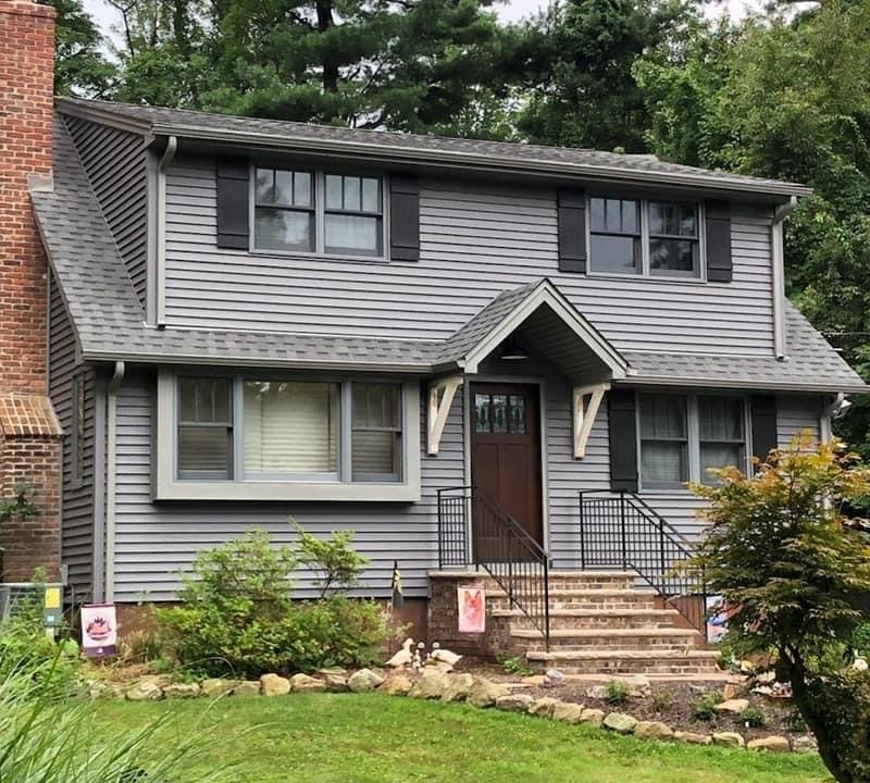 Siding and Roofing Job