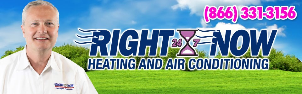 Right Now Heating, Air Conditioning & Plumbing  logo