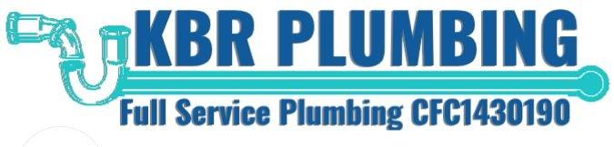 KBR Plumbing logo
