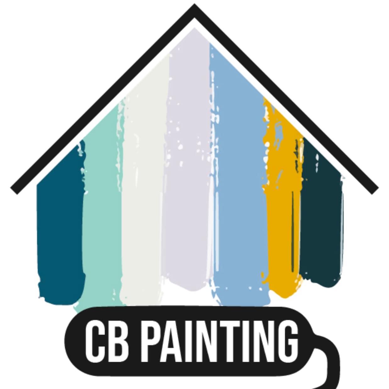 C B Painting logo
