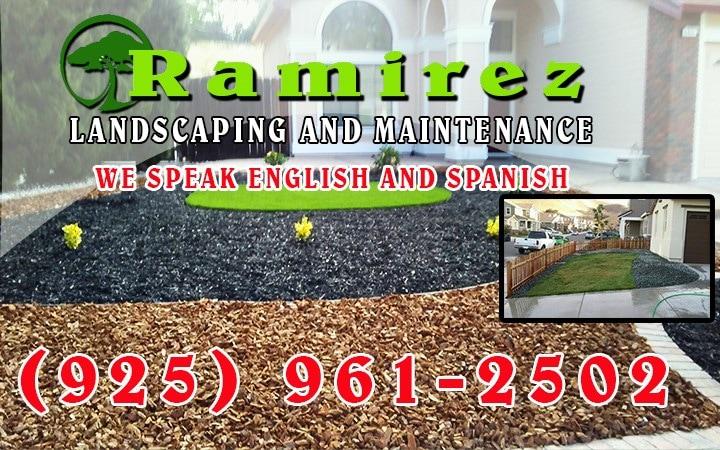 Ramirez Landscaping & Concrete logo