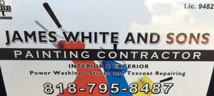 James White Painting logo