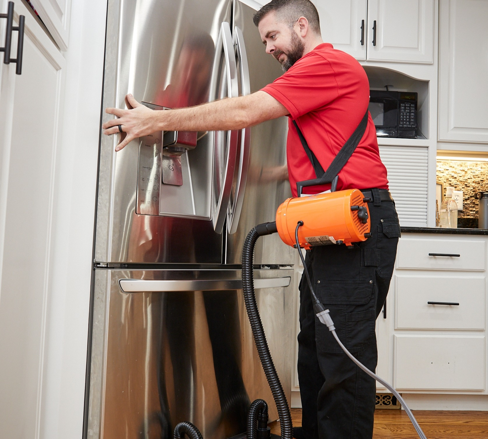 Moving Heavy Appliances with Airsled