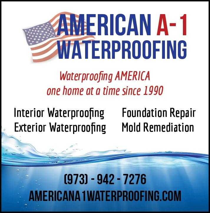 American A-1 Waterproofing logo