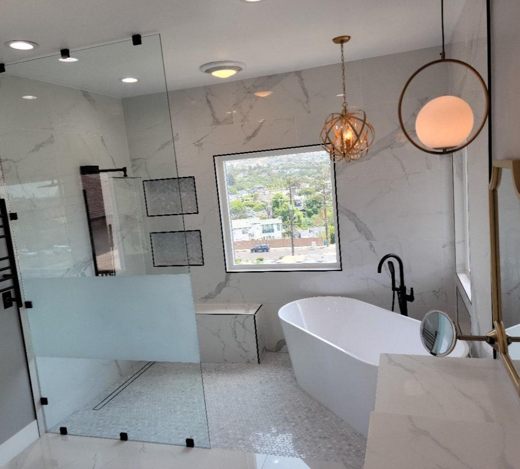 Redondo Beach Master Bathroom