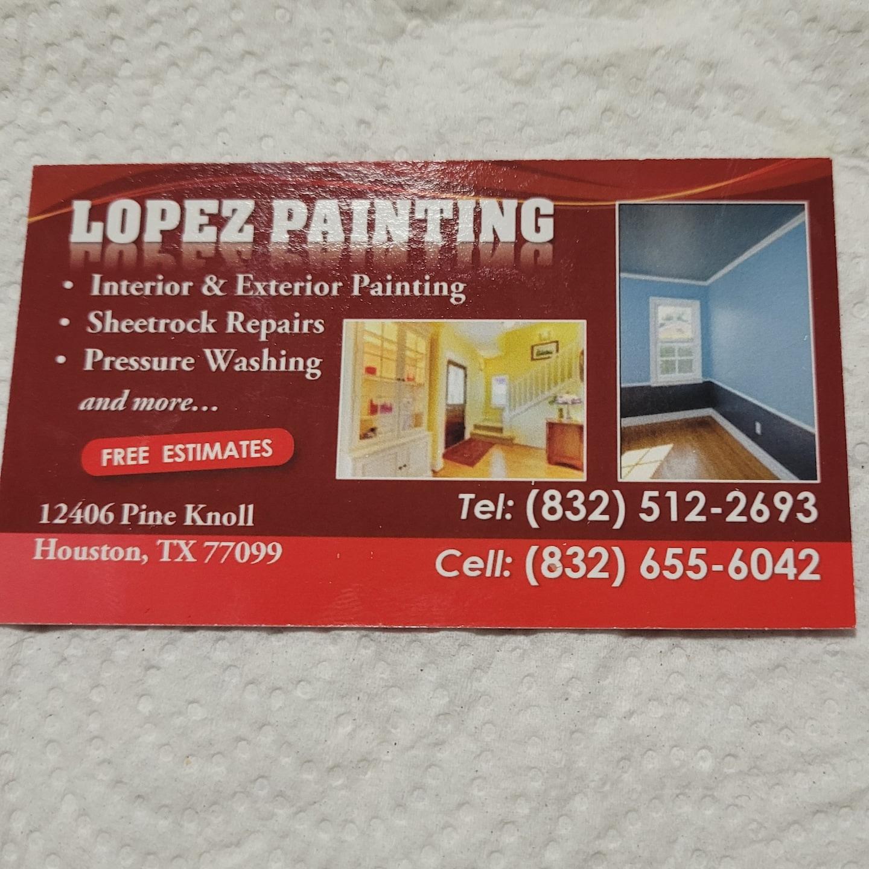 Lopez Painting logo